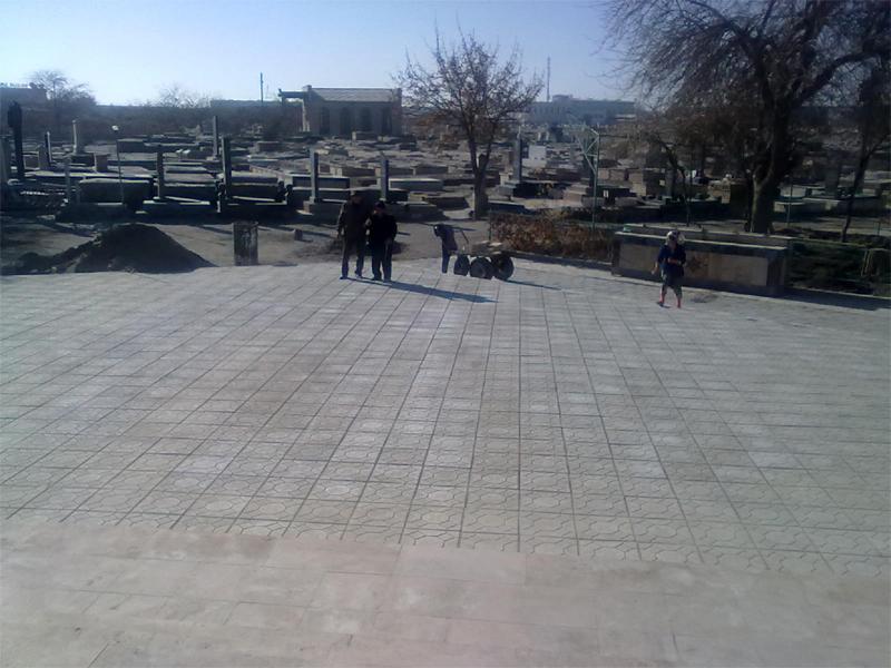 Реконструкция заднего фасада Портала