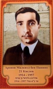 Аронов Малкиэл Аронович