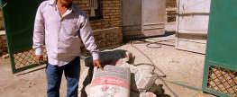 Уборка територии кладбища и продолжение реконструкции безымянных могил