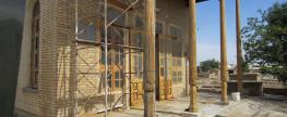 Реставрация здания ХАНУКО и прилежащих объектов и територии кладбища -2017