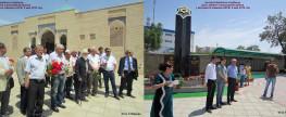 Открытие Монумента – Памятника Воинам – Бухарцам 2016